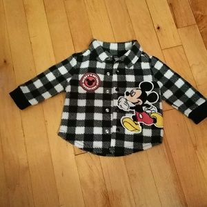 Mickey's baby jacket size 0/3 month.
